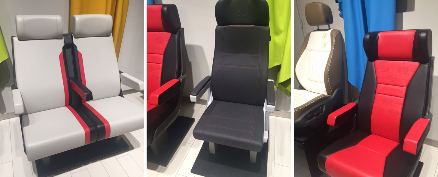 Aircraft Interior Upholstery + Carpeting
