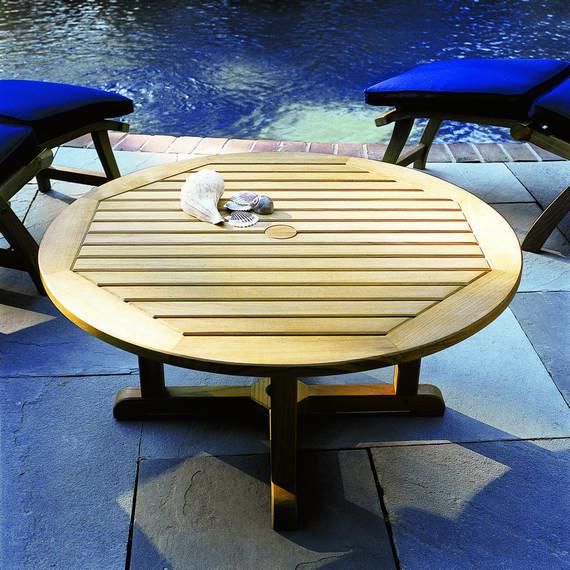 Kingsley Bate Es Round Coffee Table