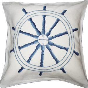 Boat Wheel Pillow