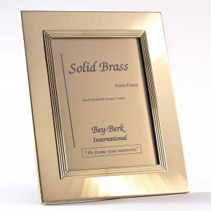 "Brass 4""X6"" Picture Frame With Easel Back"