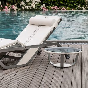 Get Details Boxmark Xtreme Leather Divine Lounge Pool Side Table