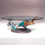 SCT5 Hono Solo II Bronze Green Sea Turtle Cocktail Table by Dale Evers at IK Yacht Design Showroom