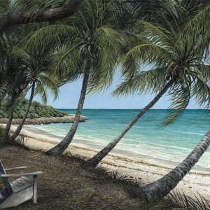 Endless Summer Giclee by Tripp Harrison at IK Yacht Design Showroom
