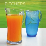 Large Contemporary Polycarbonate Pitcher