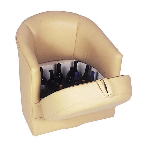 Custom Yacht / Marine Barrel Chair / Lift Seat – IK Yacht Design