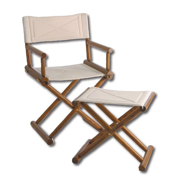 Savon Chair Foot Stool Ik Yacht Design