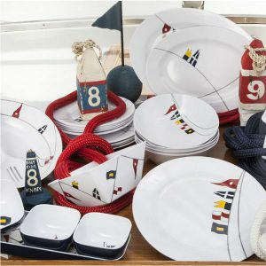 Regatta Melamine Dishes