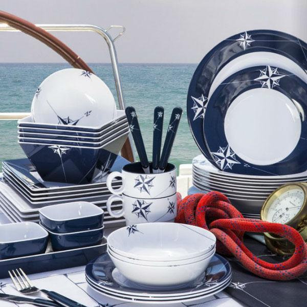 Northwind Melamine Dishes Ik Yacht Design