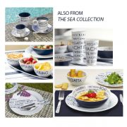 Sea Collection Melamine Dishes
