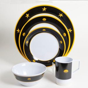 Commodore Melamine Dinner Set
