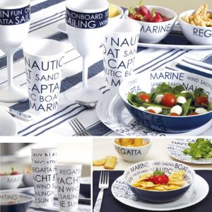Sea Melamine Dishes