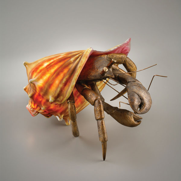 Small Hermit Crab Lamp