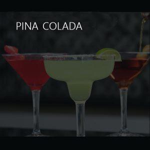 Pina Colada Unbreakable Glass