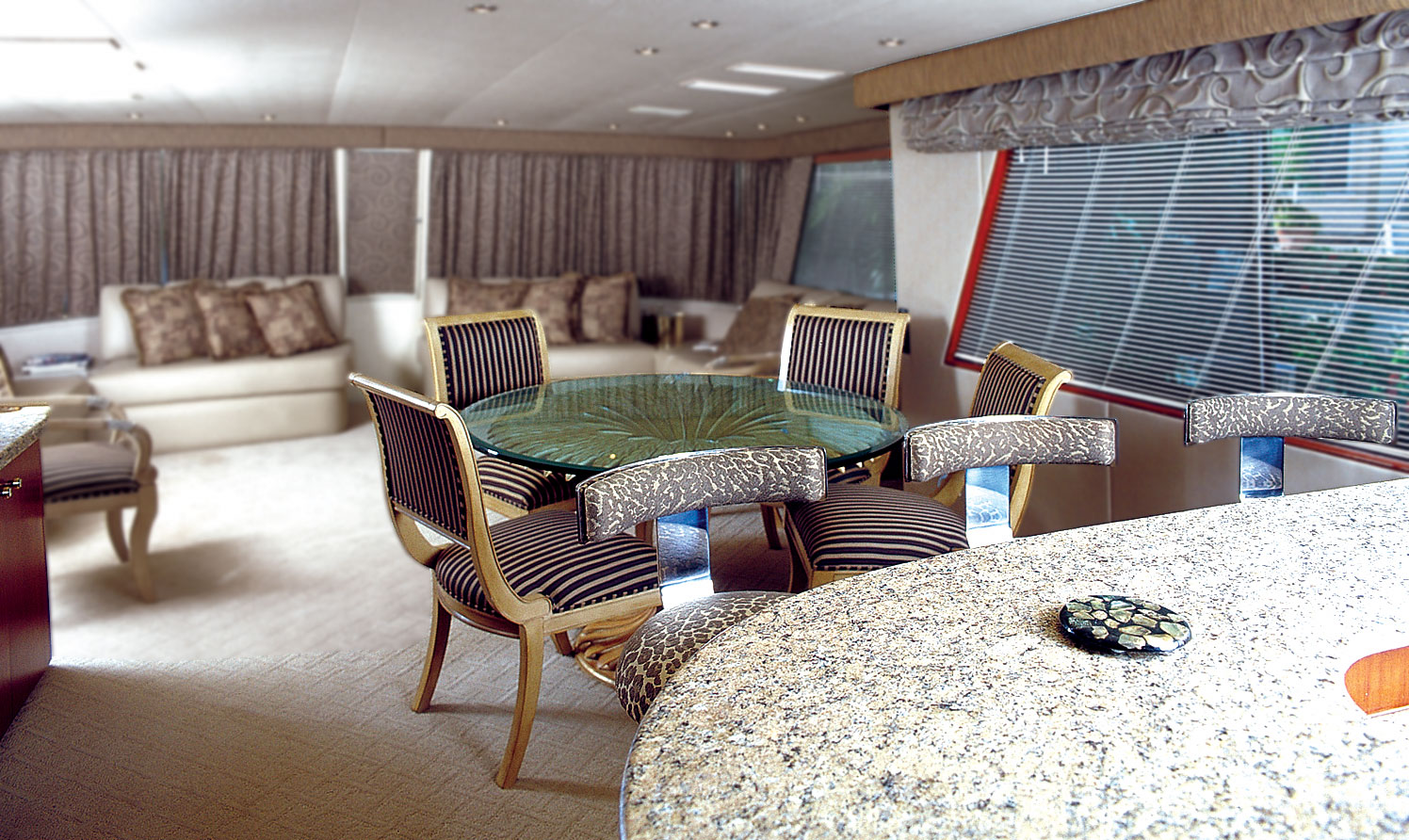 56 Hatteras Motor Yacht Ik Yacht Design