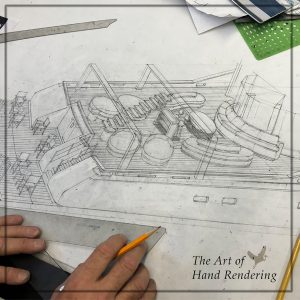 hand rendering at IK